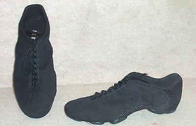 Women's black BLOCH dance / hip hop shoes , sz 6 , NEW