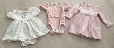 ❤️H&M Baby Girl Bundle X 3 Items 2-4m❤️