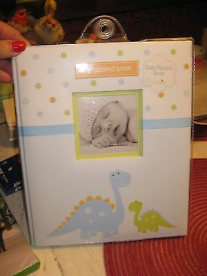 L'il Peach my record bok Baby Record Book - FIRST 5 YEARS Dinosaurs