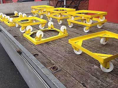 BT9, Bread Tray, Box Dolly, Container Trolley, Water Tank, Bakers, Bakery, Crate