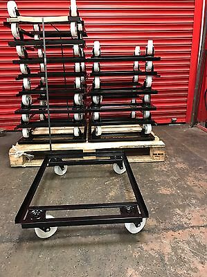 Bail Arm Bale Plastic Crates Storage Stacking Supermarket Warehouse Boxes Dolly