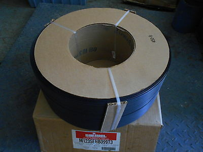 "ROLL of BLACK POLY STRAPPING 1/2"" x 9900 ft SAMUEL CANADA M1235EHB099T3"