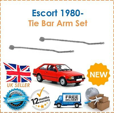 For Ford Escort MK III 1.1 1.3 1.6 1980- Rear Tie Bar Arms Adjustable Idler x2