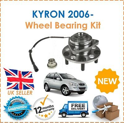 For SSANGYONG KYRON 2.0 TD 2006- Front Wheel Bearing Hub Kit With ABS Sensor
