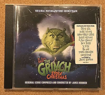 CD Dr. Seuss How the Grinch stole Christmas Soundtrack OST