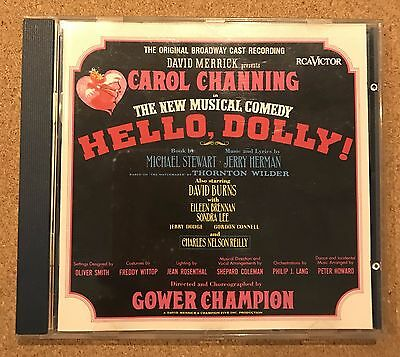 CD Musical Hello Dolly Carol Channing Original Broadway cast recording