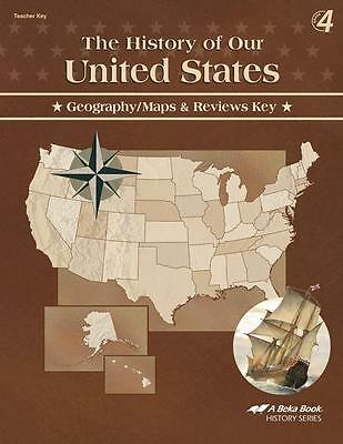 Abeka the history of our united states geographymaps and review a beka history of our united states geography maps and reviews key 4th edition fandeluxe Image collections