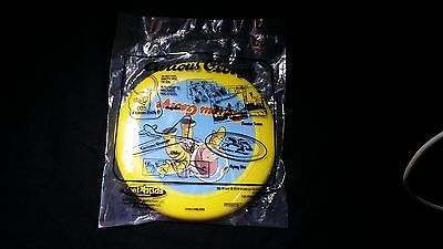 Curious George in space Yellow frisbee
