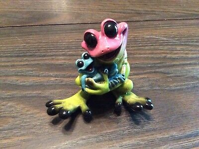 Kitty's Critters Rock-a-By-Baby frog