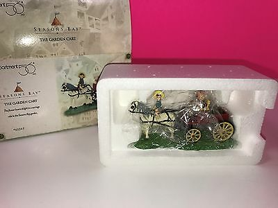 Department 56 Seasons Bay The Golden Cart Decoration Ornament Mint