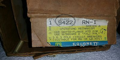 *New* Square D Operating Mechanism Class 9422 Type RN-1