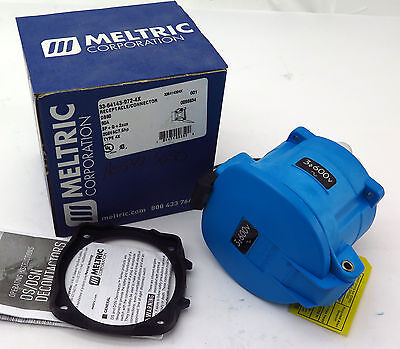 Meltric Receptacle Connector 33-64143-972-4X 60A 600VAC DS60 Free Shipping