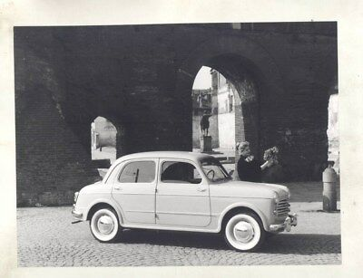 1953 1956 Fiat Nuova 1100 103 ORIGINAL Factory Photograph wy3716
