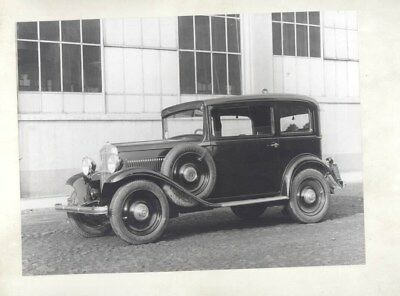 1932 1934 Fiat 508 Balilla ORIGINAL Factory Photograph wy3731