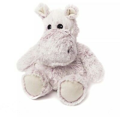 Intelex Warmies Cosy Plush Hippo Lavender Scented Microwaveable Soft Toy