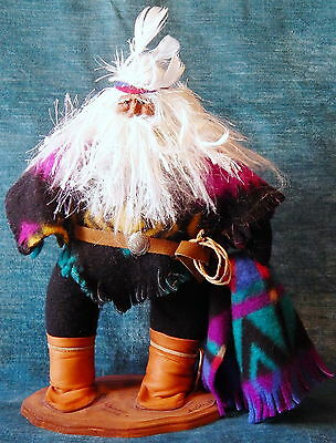 1994 Artist Signed Handcrafted Textile Sculpture Doll-Cowboy Hombre, Patty Kuhn
