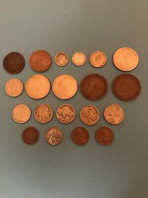 U.s. And Foreign Coins Lot
