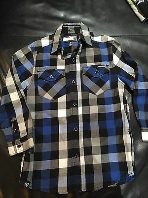 world industries Boys Long Sleeve Shirt Sz 7