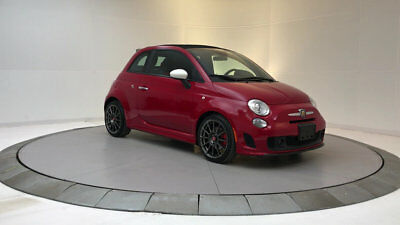 2013 Fiat 500 2dr Convertible Abarth 2dr Convertible Abarth Low Miles Gasoline 1.4L 4 Cyl Rosso (Red)