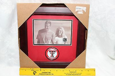 "Texas Tech University Frame w/Decorative Coin ""10""x""10"" Square"