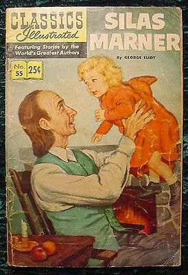 Classics Illustrated #55 Silas Marner By George Eliot  1969