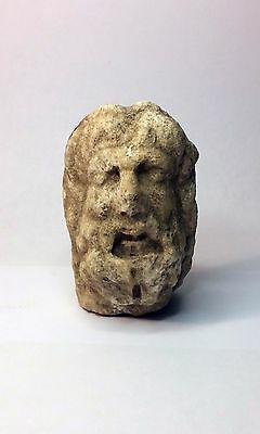 Ancient Greek Marble Head of Zeus 4rd-6th century BC