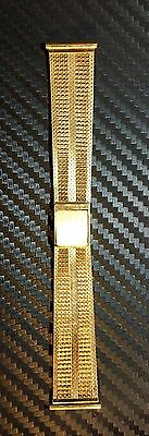 750/18K Solid Gold Watch Band