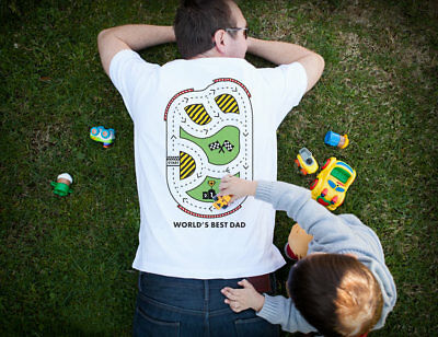 Road Massage Men's T-Shirt - Perfect Father's Day Gift