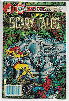 1983 Charlton Comics Scary Tales Comic #37