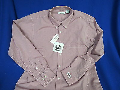 Case IH Agriculture NEW Dress Shirt (M) Loader Farm Ag Tractor disc Combine R/W
