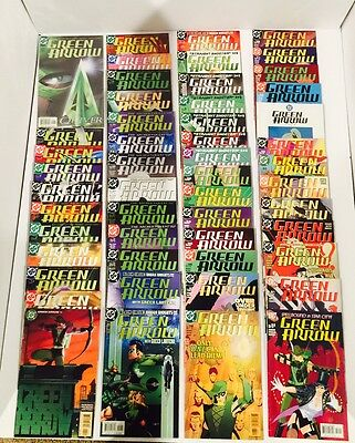 Lot Of 76 Green Arrow Vol 2 #1-75 Complete Set + Secret Files ~ Kevin Smith