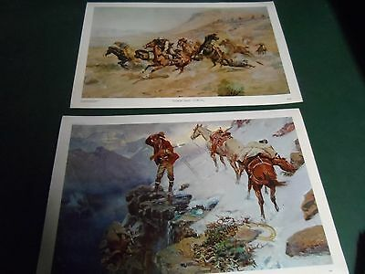 C. M. Russell Placemats Set of Two