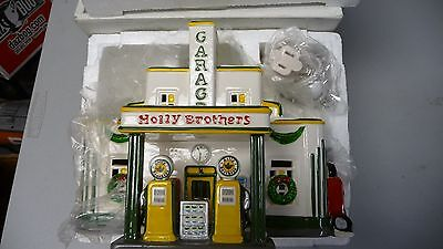 Dept 56 Snow Village Holly Brothers Garage 54854 Used In Box