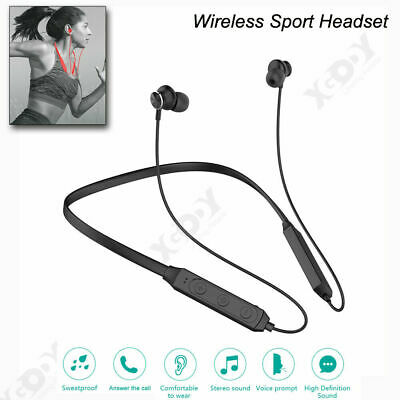 Wireless Bluetooth Sport Headphones Earphones Stereo Sweatproof Headsets Earbuds