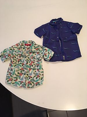 Boys Size 2, Short Sleeve Shirts X2