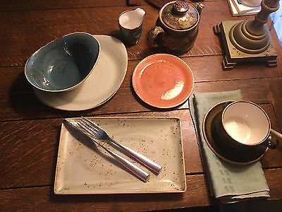 "Steelite Craft Collection 6"" Plate~Terracotta 36/Case"