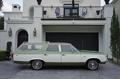 1969 AMC Other SST 1969 Rebel SST Wagon, 343 V8, 24k miles, 1 owner,ORIGINAL TITLE!!