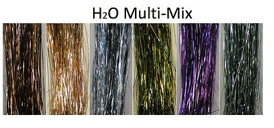 H2O Multi-Mix Flash Tinsel Fly Tying
