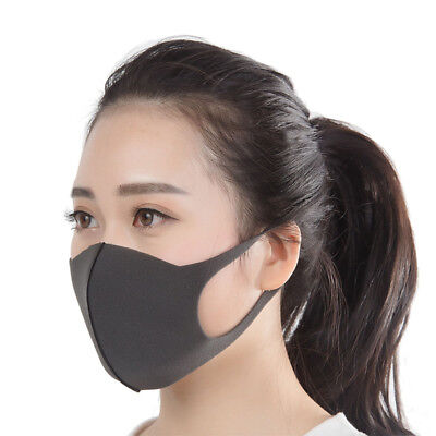 3X Unisex Washable Health Cycling Anti Dust Wind Haze Mouth Face Mask Respirator