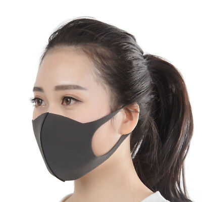 Unisex Washable Health Cycling Anti Dust Wind Haze Mouth Face Mask Respirator