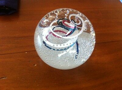 Genuine Caithness Prince of Wales and Lady Diana Spenser Marriage Paperweight