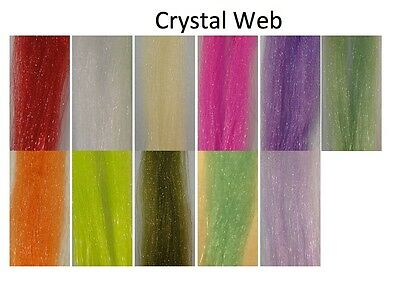 Crystal Web Fly Tying Material