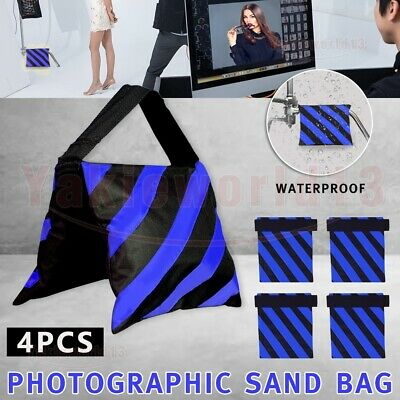 4PCS Photography Studio Sand Bags Sandbag Weight Ballast For Boom Light Stand AU
