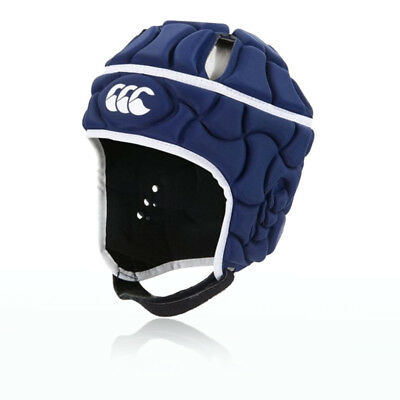 Canterbury Club Plus Mens Blue Headguard Rugby Sports Protective Hat