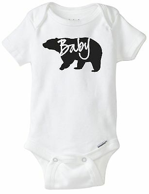 623321a53 BABY BEAR CUTE Graphic Gerber Onesie, Youth, V-Neck, & Crew Neck ...