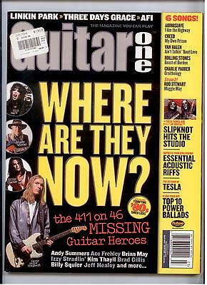 Guitar One Magazine OCTOBER 2006 CARS BREAKING BENJAMIN ACDC HENDRIX TAB book