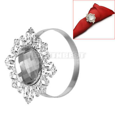Wedding Party Dinner Favor Table Decoration Accessories Napkin Ring Holder New