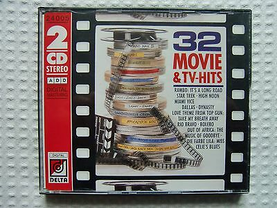 32 Movie & TV-Hits - 2 CD 1988