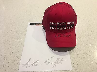 Official Allan Moffat Motorsport Memorabillia Team Cap Signed