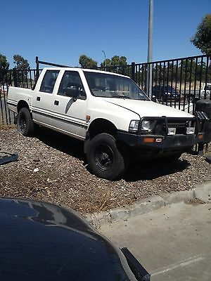 Holden Rodeo Dual Cab Ute 1995. Reco engine. Melbourne northern suburbs